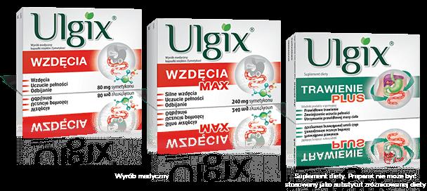 Produktu z linii Ulgix